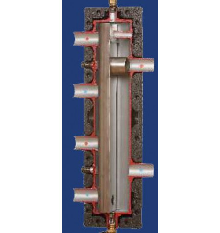 Distribution Low Loss Header 40kW 1""