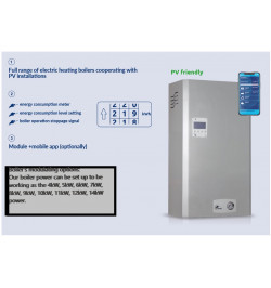 """ELECTRIC SYSTEM BOILER 14 kW AsZN-W """"COLONEL"""" Single Phase"""