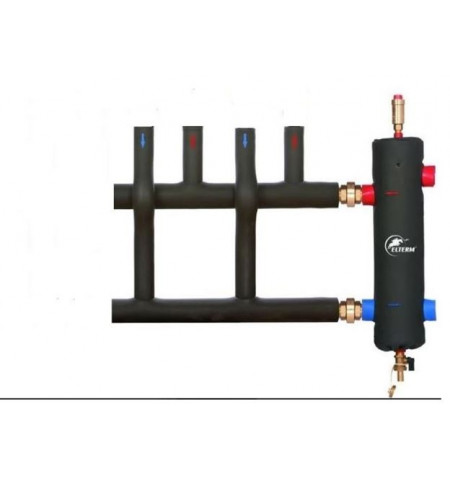 "2"" 115kW Low Loss Header + 2 Way insulated Manilfold 2"""