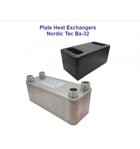 Stainless steel plate heat exchanger Ba 12-12 25kW